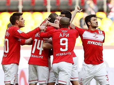 «Спартак» дома обыграл «Амкар» - 2:0