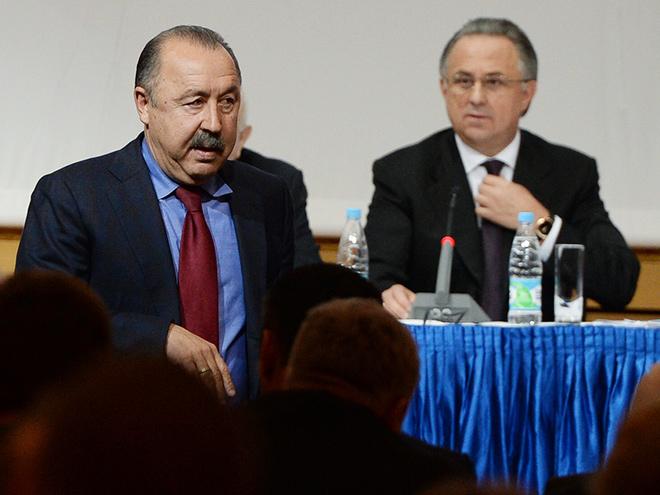 Валерий Газзаев и Виталий Мутко