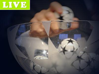 Онлайн жеребьёвки Лиги чемпионов и Лиги Европы