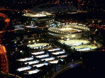 Расписание 1-го игрового дня Australian Open-2013