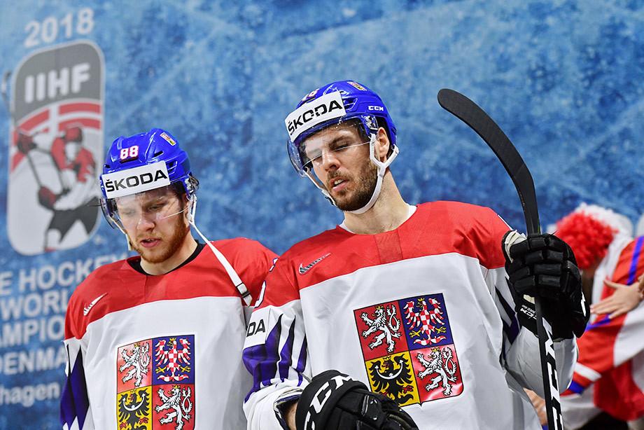 Давид Пастрняк и Давид Крейчи, сборная Чехии