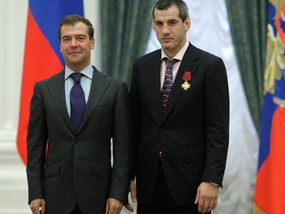 Дмитрий Медведев и Бувайсар Сайтиев