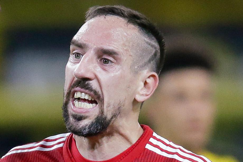 Рибери напал на журналиста после матча с «Боруссией». Тот пожаловался клубу
