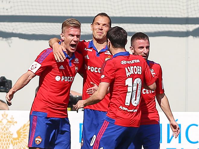 ЦСКА – «Терек» – 1:0