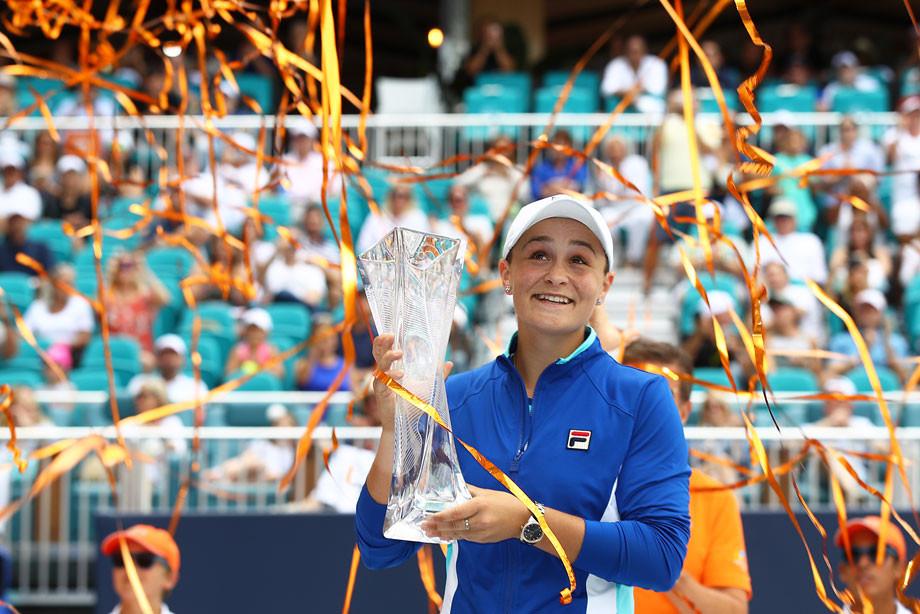 Эшли Барти обыграла Каролину Плишкову в финале турнира в Майами