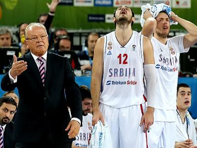 Сербия проиграла Испании в 1/4 Евробаскета