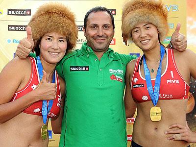 Москва готовится к проведению этапа «БШ» по пляжному волейболу