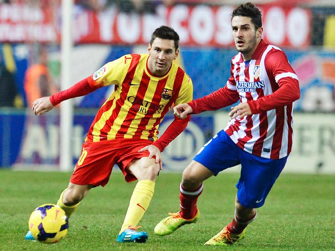 «Барселона» и «Атлетико» играют за победу в лиге