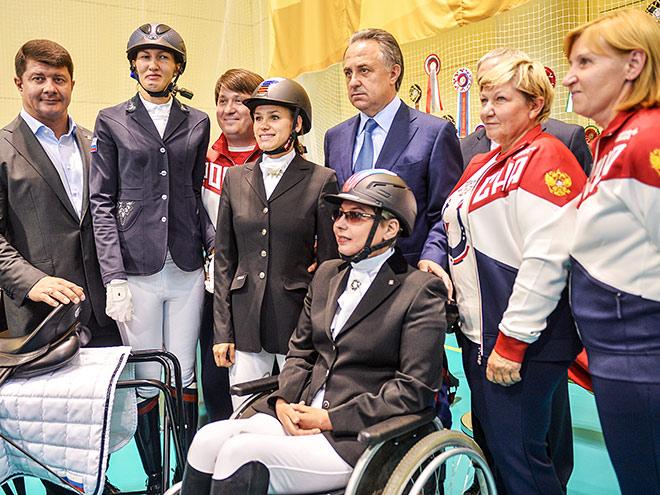 Интервью старшего тренера сборной России по конному спорту лиц с ПОДА