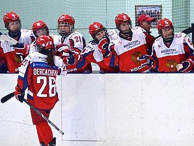 Женская сборная России отправилась на ЧМ по хоккею