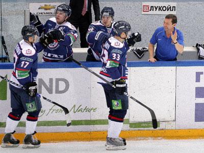 Бенефис белорусских вратарей