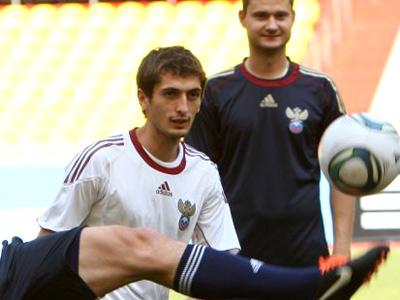 Гаджибеков: тренировка со сборной – плюс для меня