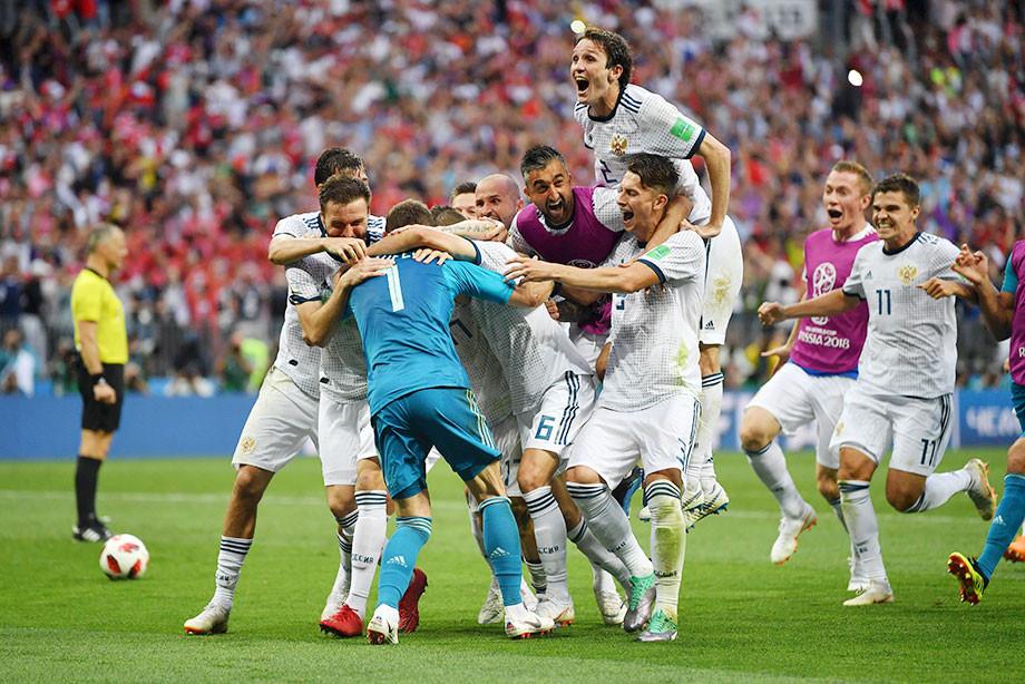 Россия победила Испанию в 1/8 финала ЧМ-2018 (Видео)