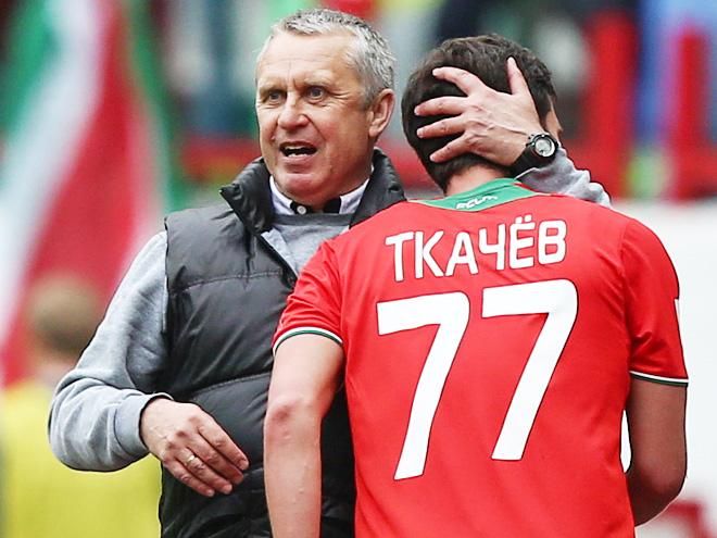 Леонид Кучук и Сергей Ткачёв