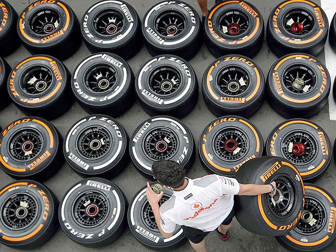 Похожи ли покрышки «Пирелли» для Формулы-1 и обычных дорог