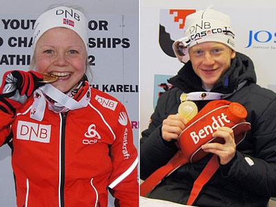 Хильде Фенне и Йоханнес Бё