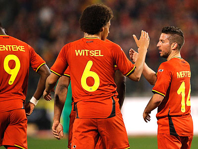 Товарищеские матчи Бельгии, Южной Кореи и Алжира