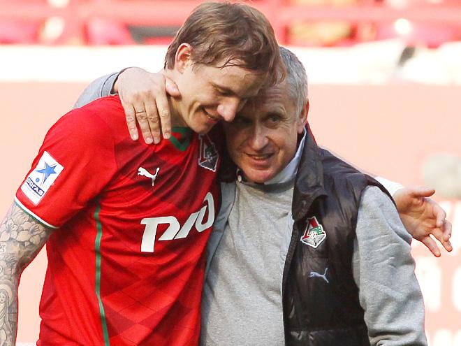 Роман Павлюченко и Леонид Кучук