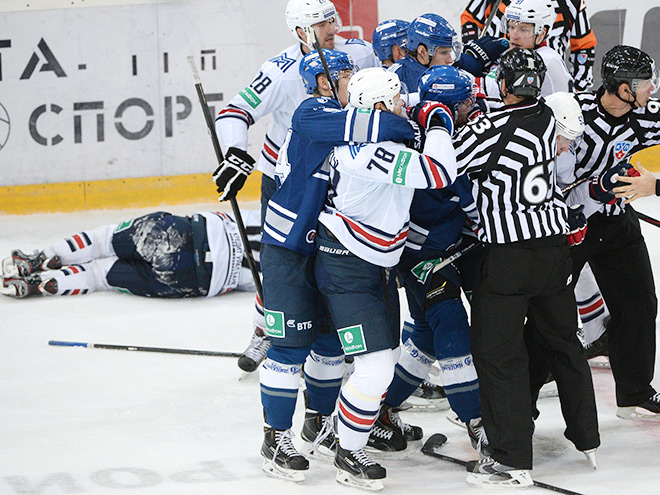 Травма Сергея Мозякина