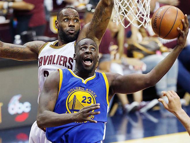 Леброн Джеймс едва не подрался с Дрэймондом Грином в финале НБА