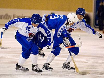Хоккей с мячом. 3 октября состоялись четыре встречи Кубка России