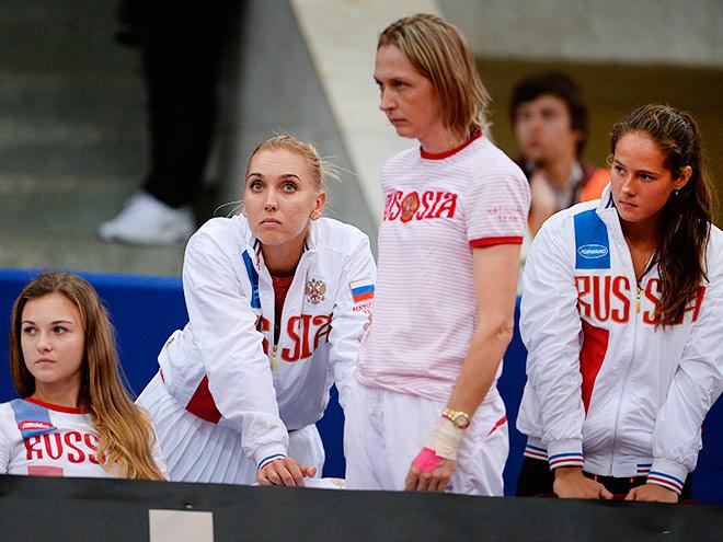 Азаренко помогла сборной Беларуси победить сборную России