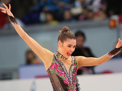 Российская гимнастка Александра Меркулова