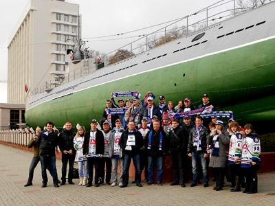 «Торпедо» вместе с болельщиками на краю Земли