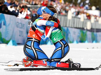 Лыжные войны Ванкувера. Командные спринты