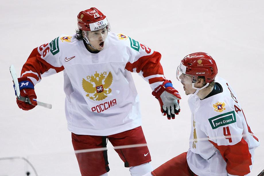 Молодёжная сборная России — Хоккей