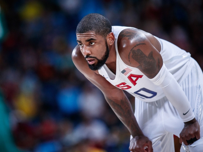 Сборная США победила Францию в матче баскетбольного турнира Олимпиады
