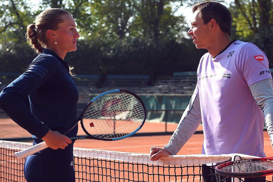 Проводник к теннисному престолу. Саша Бажин принял вызов Кристины Младенович