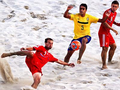 Мгновения Кубка мира по пляжному футболу