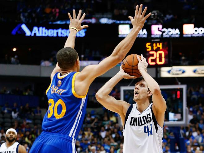 Дирк Новицки считает Стивена Карри ненормальным от баскетбола