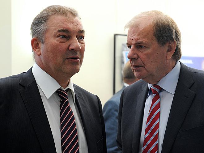 Владислав Третьяк и Валерий Фесюк