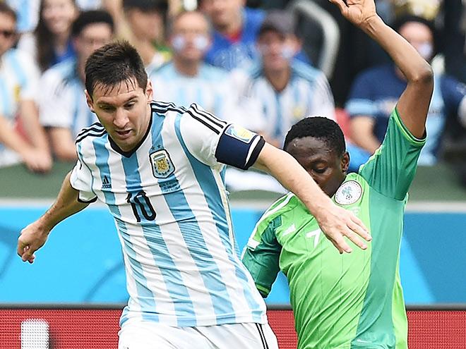 ЧМ-2014. Аргентина обыграла Нигерию