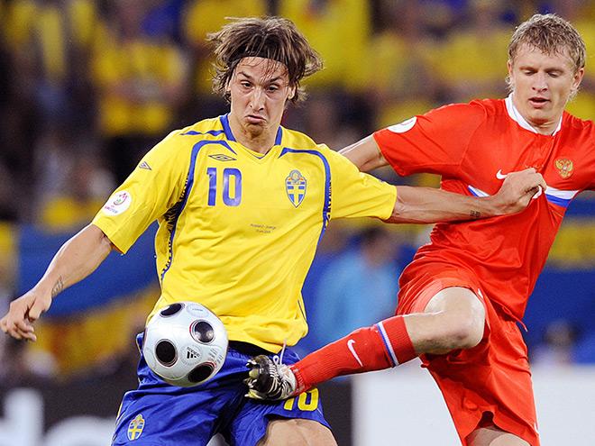 Все матчи России против скандинавских команд