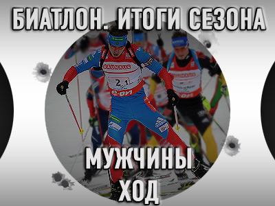 Скоростные показатели мужской биатлонной сборной