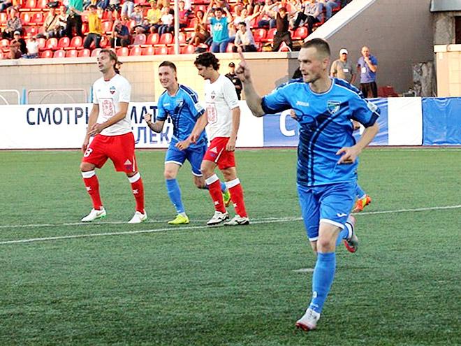 Нападающий «Сибири» Максим Житнев отбил пенальти