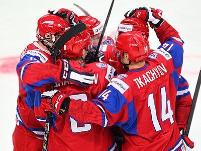 Россия U-20 - Швейцария U-20 - 7:5