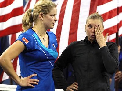 Шарапова, Кузнецова, Дементьева, Звонарёва, Уильямс на US Open