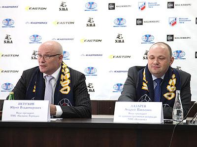 Юрий Петухов и Андрей Лазарев
