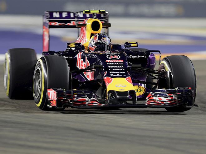 Обзор тренировок Гран-при Сингапура Формулы-1