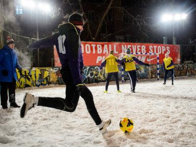 В Москве прошёл финал турнира Football never stops