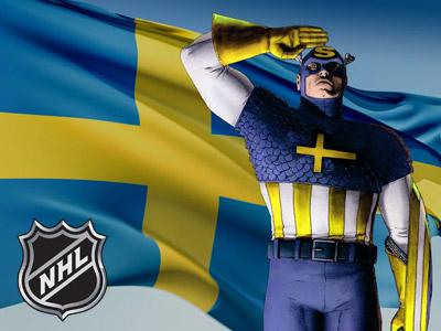 Вы из Швеции? Добро пожаловать в НХЛ
