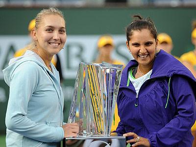 Веснина: Саня Мирза рождена для парного тенниса