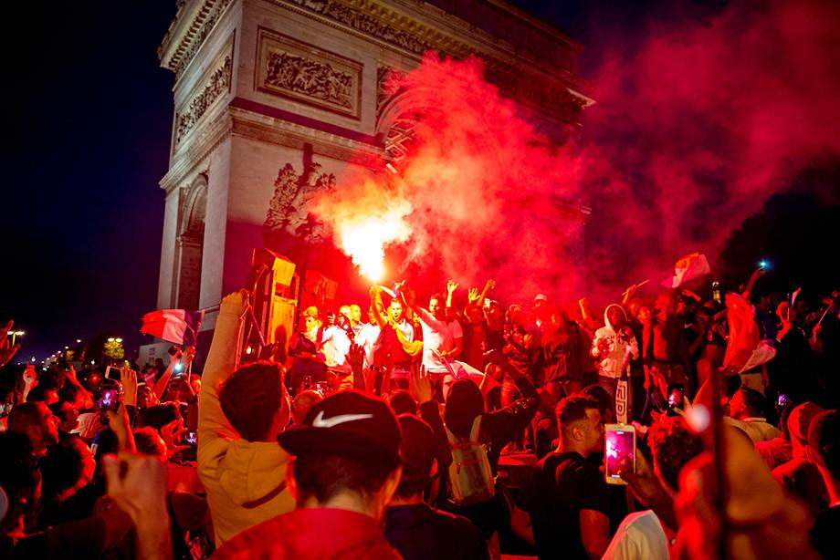ЧМ-2018. Париж. Франция. Финал