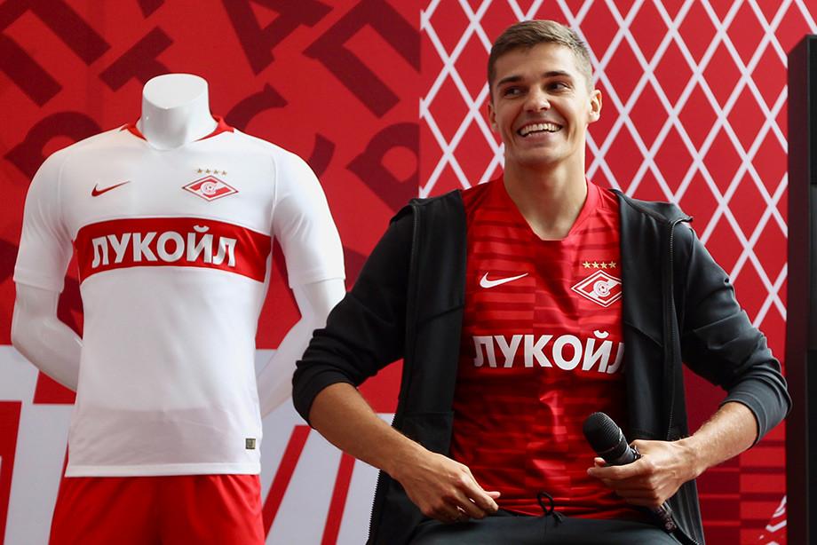 «Спартак» планирует поднять отступные заЗобнина до €35 млн