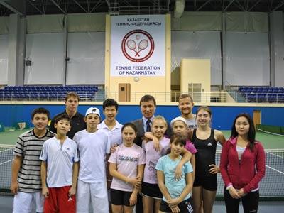 Теннисный проект Казахстана