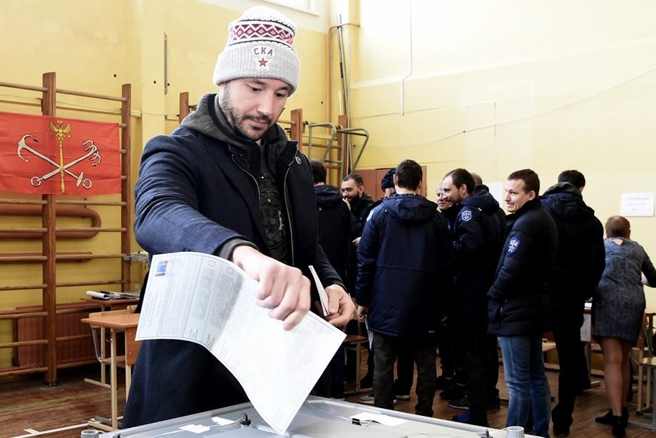 Илья Ковальчук на выборах президента России